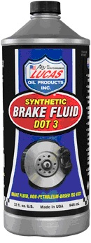 Lucas Brake Fluid DOT 3 Racing (12oz)